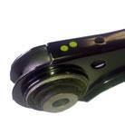 Kortho-Hot-Quickcoder-waxprinter-voorbeeld-stip-op-onderdeel-ruitenwisser-K