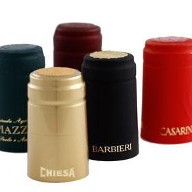 Kortho-Hotprinter-logo-printen-met-goudfoil-op-wijnhulzen-G