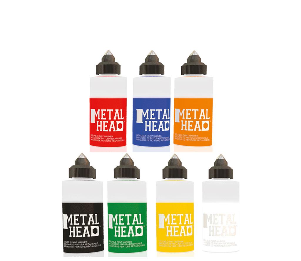 U Mark Metalhead  – Der entfernbare Marker. Sie können auf einfachste Art und Weise Werkstoffe mit extrem rauhen Oberflächen kennzeichnen. Von Kortho Kennzeichnungssysteme - Paderborn - Deutschland