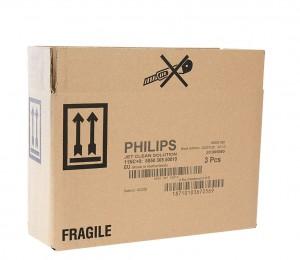 Karton gekennzeichnet mit dem GraphicJet X18 - dem Hi-Res Inkjet-Drucker zur Produktkennzeichnung auf saugfähigen Untergründen von Kortho Kennzeichnungssysteme - Paderborn - Deutschland