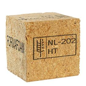 Holzblock gekennzeichnet mit dem GraphicJet X18 - dem Hi-Res Inkjet-Drucker zur Produktkennzeichnung auf saugfähigen Untergründen von Kortho Kennzeichnungssysteme - Paderborn - Deutschland
